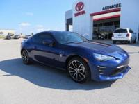 New Price! 2017 Toyota 86 CARFAX One-Owner. Clean