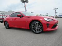 CARFAX One-Owner. Clean CARFAX. Red 2017 Toyota 86 RWD