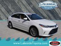 CARFAX One-Owner. Clean CARFAX. White 2017 Toyota