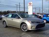 New Arrival! This 2017 Toyota Avalon Limited  will sell