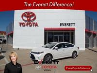 Recent Arrival! 2017 Toyota Avalon Limited Blizzard