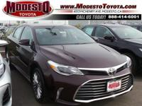 2017 Toyota Avalon Limited 30/21 Highway/City