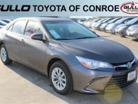 Gray 2017 Toyota Camry Hybrid LE 38/42 Highway/City