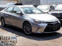 Certified. 2017 Toyota Camry SE Celestial Silver