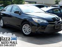 Certified. 2017 Toyota Camry LE Midnight Black Metallic