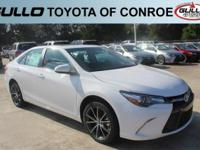 White 2017 Toyota Camry XSE 33/24 Highway/City MPGLet