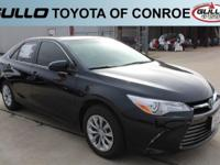 Gray 2017 Toyota Camry LE 33/24 Highway/City MPGLet the