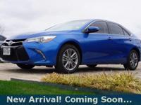 2017 Toyota Camry SE in Blue Streak Metallic, This