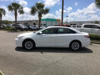 This outstanding example of a 2017 Toyota Camry LE is