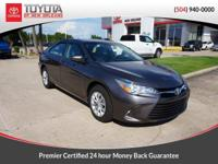 CARFAX One-Owner. Clean CARFAX. Gray 2017 Toyota Camry