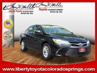 ONLY 3,497 Miles! EPA 33 MPG Hwy/24 MPG City! LE trim,