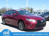 New Price! 2017 Toyota Camry SE Ruby Flare Pearl CARFAX