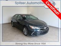 Toyota Camry SE CARFAX One-Owner. Certified. Clean