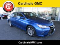 CARFAX One-Owner. Clean CARFAX. Blue 2017 Toyota Camry