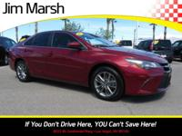 Camry SE, a 2017 model with seating for five! Stylish