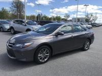 Cosmic Gray Mica 2017 Toyota Camry SE FWD 6-Speed