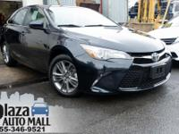 Certified. 2017 Toyota Camry SE Parisian Night Pearl