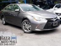 Certified. 2017 Toyota Camry SE Predawn Gray Mica