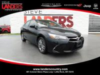 Clean CARFAX. Black 2017 Toyota Camry SE FWD 6-Speed