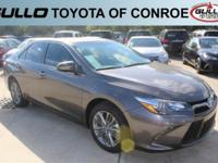 Gray 2017 Toyota Camry SE 33/24 Highway/City MPGLet the