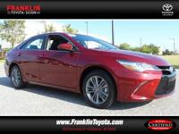 Camry SE. STOP! Read this! Don't bother looking at any