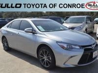 Silver 2017 Toyota Camry XSE 33/24 Highway/City