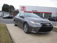 2017 TOYOTA CAMRY SE!! LOW MILEAGE, TOYOTA CERTIFIED 7