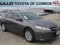 Gray 2017 Toyota Camry LE 33/24 Highway/City MPGAwards: