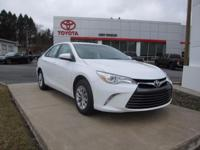 2017 TOYOTA CAMRY LE!! TOYOTA CERTIFIED 7 YEARS/100,000