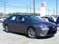 New Arrival! This 2017 Toyota Camry SE  will sell fast!