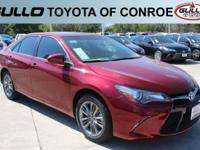 Red 2017 Toyota Camry SE 33/24 Highway/City MPGAwards: