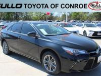Gray 2017 Toyota Camry SE 33/24 Highway/City MPGAwards: