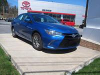 2017 Toyota Camry Certified. CARFAX One-Owner. 33/24