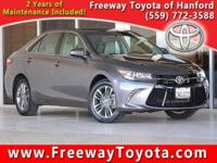 Clean CARFAX. Gray 2017 Toyota Camry FWD 6-Speed