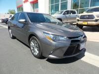 New Arrival! This 2017 Toyota Camry SE will sell fast