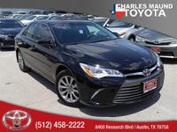 Leather Interior. Camry XLE, Toyota Certified, 4D