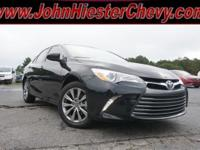 Options:  2017 Toyota Camry Xle|Black|Priced Below Kbb