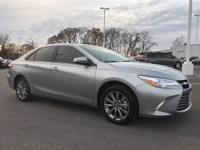 New Price! Silver Metallic 2017 Toyota Camry XLE FWD