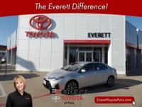 Recent Arrival! 2017 Toyota Corolla SE Silver Metallic