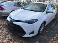 CARFAX One-Owner. Clean CARFAX. Super White 2017 Toyota