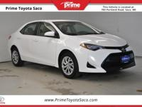 CARFAX One-Owner. Toyota Certified!, 2017 Toyota