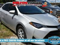 Options:  2017 Toyota Corolla L|Miles: 26819Color: