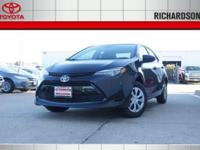 PRICED TO SAVE YOU TIME AND MONEY! 2017 Toyota Corolla