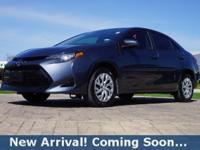 2017 Toyota Corolla LE in Falcon Gray Metallic, This