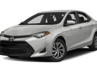 Options:  2017 Toyota Corolla L|**Prices Are Plus