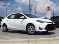 New Arrival! This Corolla  has many valuable options!