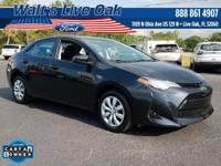 CARFAX One-Owner. 2017 Corolla Toyota Buy From the #1