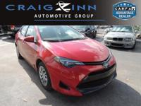 New Arrival! CarFax 1-Owner, This 2017 Toyota Corolla