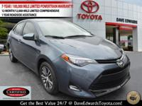 Options:  2017 Toyota Corolla Le|Le 4Dr Sedan|One