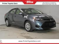 CARFAX One-Owner! 2017 Toyota Corolla LE in Slate